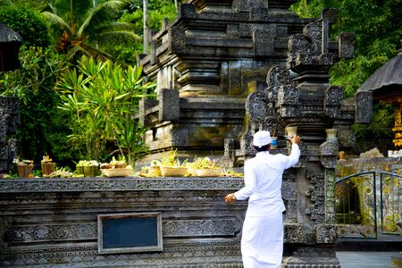 Tirta Empul Temple - Bali - Indonesia 写真素材 - 133162548