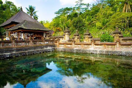 Tirta Empul Temple - Bali - Indonesia 写真素材 - 133162549