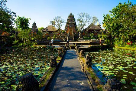 Saraswati Temple - Bali - Indonesia 写真素材 - 133162551