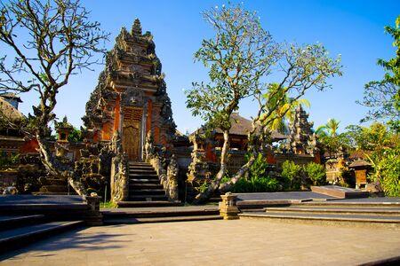 Saraswati Temple - Bali - Indonesia 写真素材 - 133162552