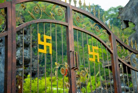 Door to Ulan Danu Buyan Temple - Bali - Indonesia