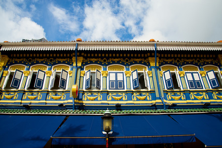 Colorful Facade on Muscat Street - Singapore