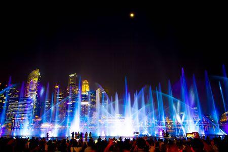 Public Light Show - Singapore