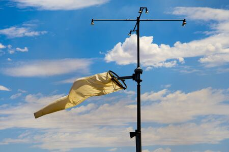 Windsock Mounted on a Pole