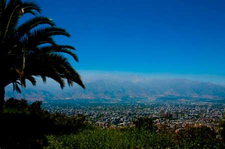 City of Santiago - Chile Reklamní fotografie