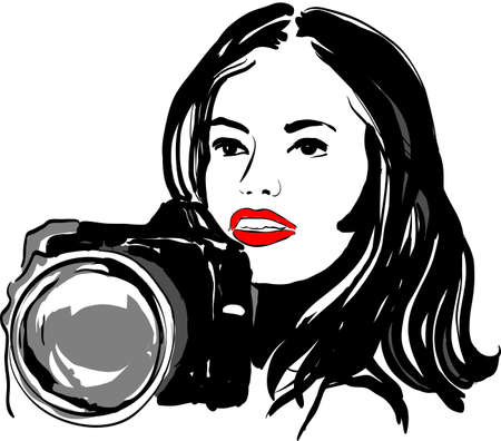 photographer Stock Vector - 19971673