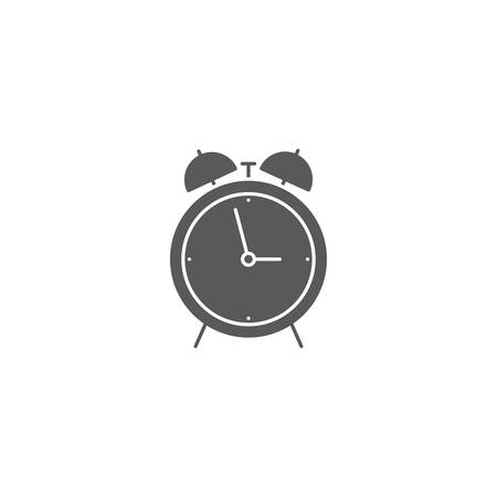 alarm clock vector icon concept design isolated on white background
