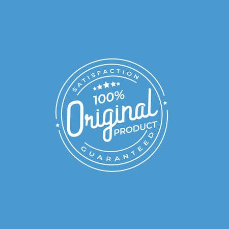 100% Guaranted Original Product Stamp Vector