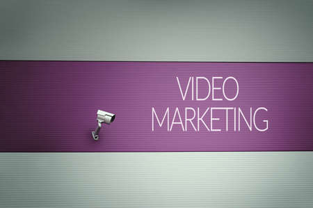 internet search: Video marketing Stock Photo