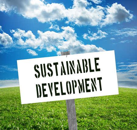 solarpower: Sustainable development sign. Sustainability concept.