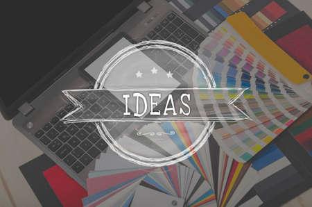 designer labels: Identity Branding Marketing Copyright Brand Concept