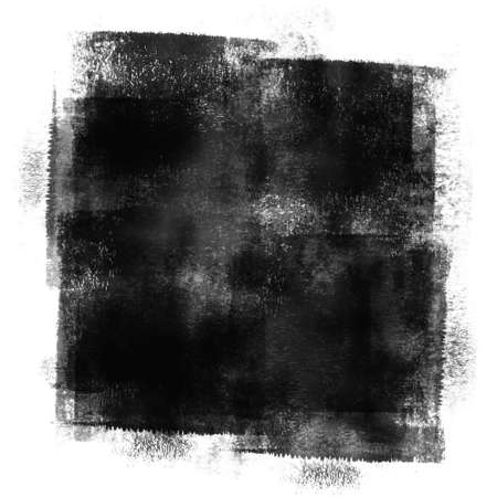Black Painted Grunge Texture