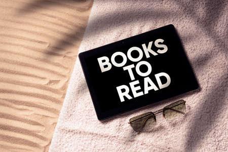 Books to read concept