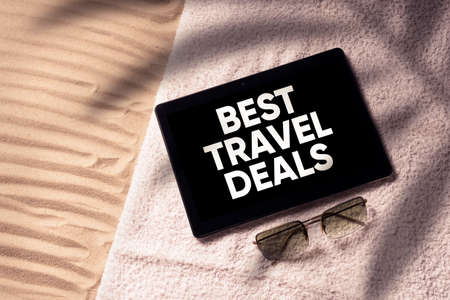 Best travel deals concept