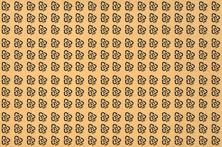 Seamless pattern of paper recycling code PAP 21