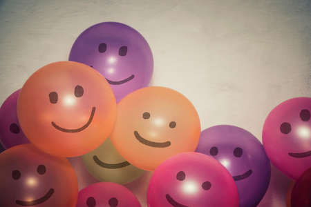 Colorful balloon friends