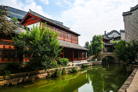 Chinese traditional architecture Stock Photo