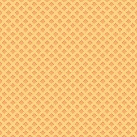 Seamless wafer background. Vector illustrator. Фото со стока - 53777673