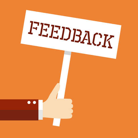 feedback: Business concept, Feedback.