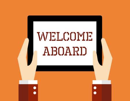 bienvenidos: Concepto de negocio, Bienvenido a bordo.