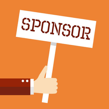 sponsor: Business concept, Sponsor.