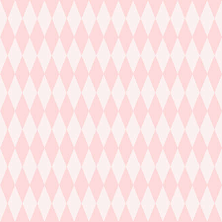 Pink dimond shape seamless pattern, can use for background. 일러스트