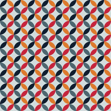 Colorful seamless geometric pattern background. Abstract design. Illusztráció