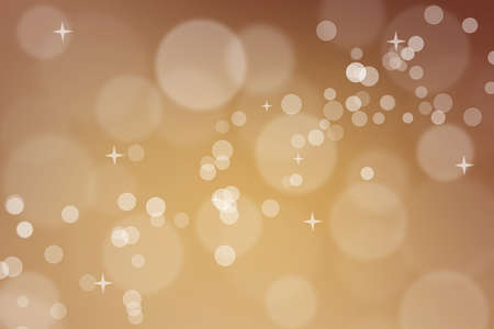 Abstract orange bokeh background, can use for celebration or festival. Stock fotó