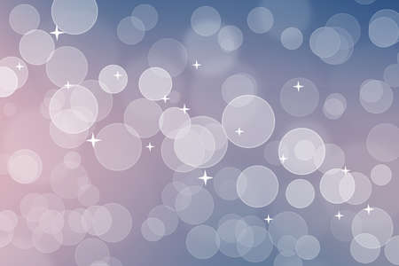 Abstract blue color bokeh background.