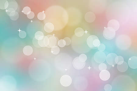 Abstract colorful bokeh background, can use for celebration or festival. Stock fotó