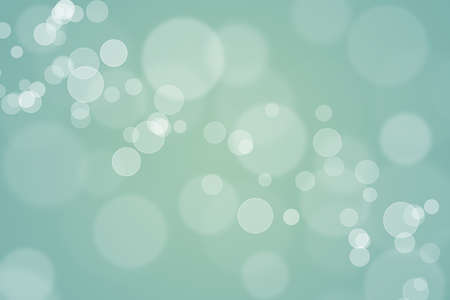 Abstract green bokeh background, can use for celebration or festival.