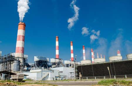 Mae Moh Kohlekraftwerk in Lampang, Thailand. Standard-Bild - 24299430