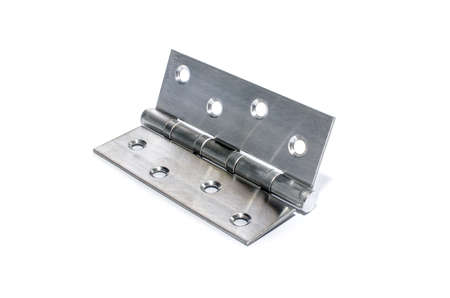 silver metal hinge photo