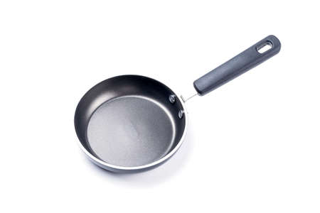 nonstick: Frying pan isolated on white background