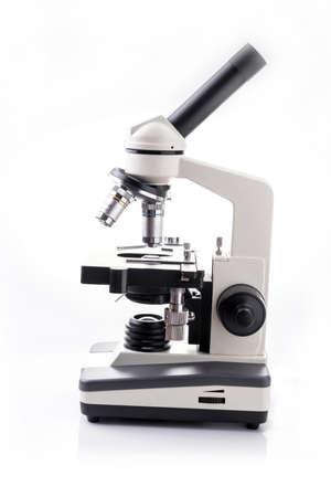 microscope isolated: Microscope isolated on white background