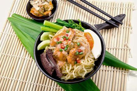 Ramen noodle japanese style