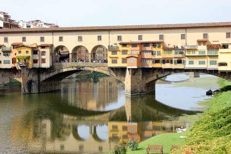 vechio: Ponte Vechio bridge in summer, Florence