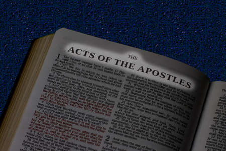 Bible, Book of The Acts of the Apostles Imagens