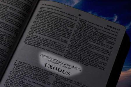 Bible, The Book of Exodus Reklamní fotografie