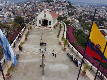Church Cerro Santa Ana, City of Guayaquil, Ecuador