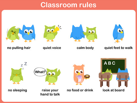 child hair: Classroom rules for kids