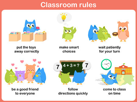 regulations: Classroom rules for kids