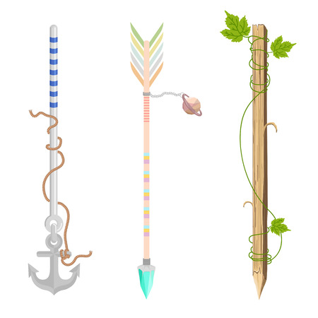 grapnel: Arrow design - A set of cute hipster arrows
