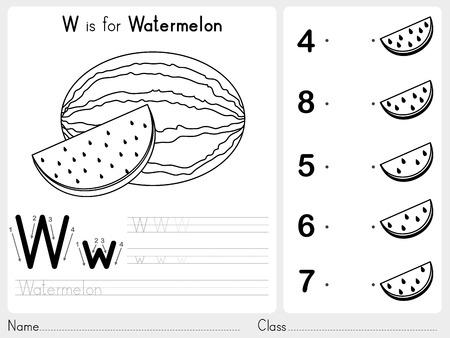 contorno: AZ del alfabeto de B�squedas y rompecabezas de la hoja de trabajo, ejercicios para los ni�os - Libro para colorear - ilustraci�n vectorial y esquema