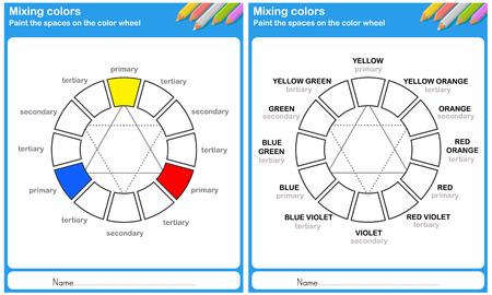 Color Mixing - dipingere lo spazio sulla ruota dei colori