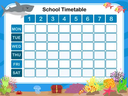 educativo: Calendario para la escuela