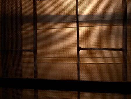 zonsopgang windown Stockfoto