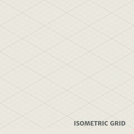 hid: Isometric grid for graphic works. They can connect each other for a bigger frame.