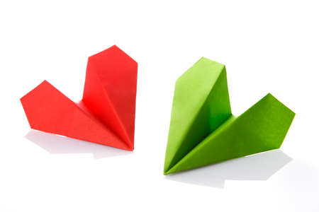 paper plane: Paper plane. Start up business concept