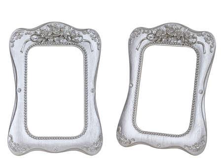 silver frame: Silver photo frame